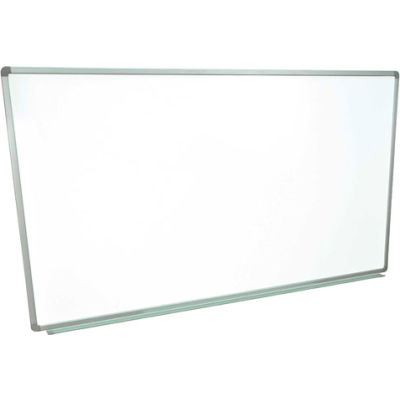 Global Industrial™ Magnetic Whiteboard - 72 x 48 - Steel Surface - Aluminum Frame