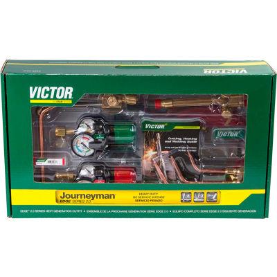 Victor® Journeyman EDGE 2.0 Heavy Duty Acetylene Cutting/Heating/Welding Outfit CGA-510