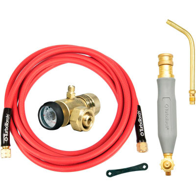 TurboTorch® SOF-FLAME™ Torch Kit, WSF-4 , S-4 Soldering Tip, 12' Hose, Air Acetylene
