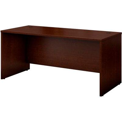 "Bush Furniture Wood Desk Shell - 66"" - Mocha Cherry - Series C"