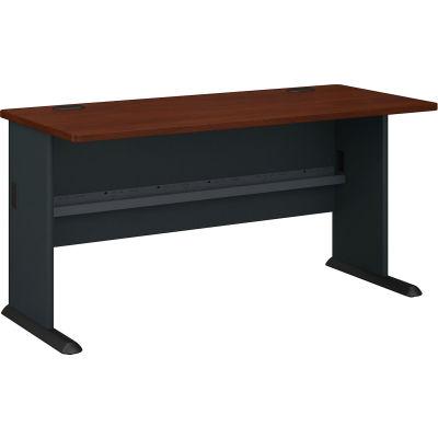 """Bush Furniture 60"""" Desk - Hansen Cherry - Series A"""
