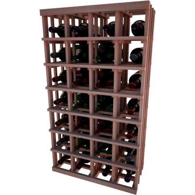 Individual Bottle Wine Rack - Magnum Bottle, 4 ft high - Black, All-Heart Redwood
