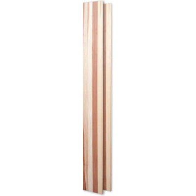 Vintner Series Finish Option, Wood Paneling & Filler Kit, 2 Pcs - Unstained Mahogany