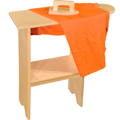 Wood Designs™ Stationary Ironing Board with Iron