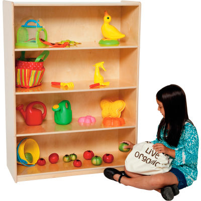 """Wood Designs™ Natural Bookshelf, 48""""H"""