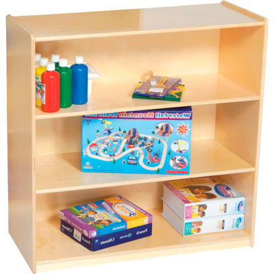 "Wood Designs™ Natural Bookshelf, 36""H"