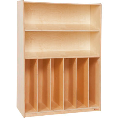 Wood Designs™ Tip-Me-Not Bookcase