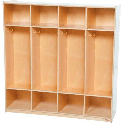 Four Section Locker