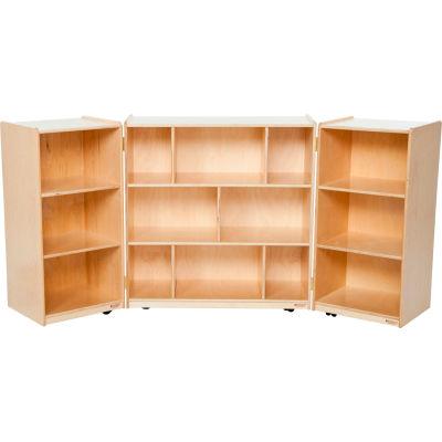 Three Section Folding Storage