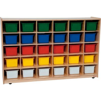 30 Tray Storage with Assorted Trays
