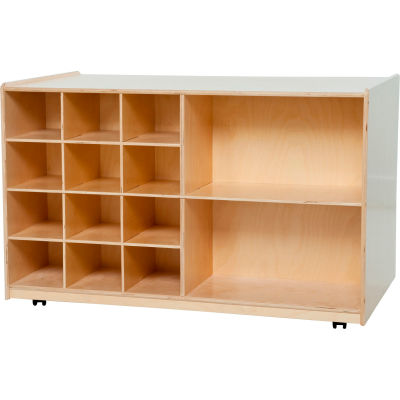 Double Mobile Storage without Trays