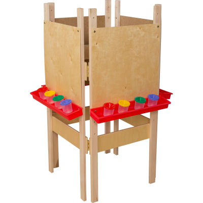 Wood Designs™ Four Side Easel with Plywood