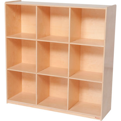 Nine Cubby Deep Storage