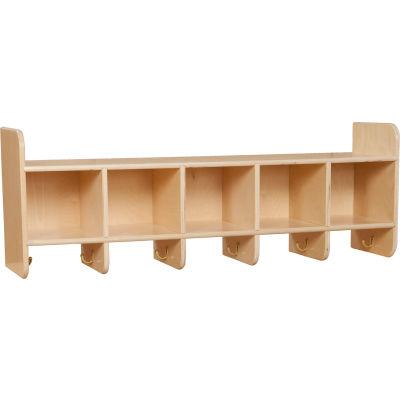 Five Section Wall Locker