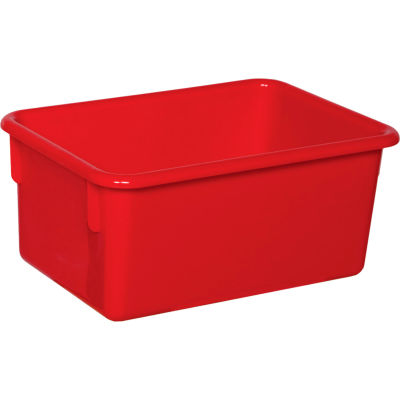Red Cubby Tray