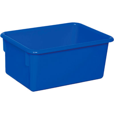 Blue Cubby Tray