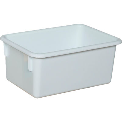 White Cubby Tray