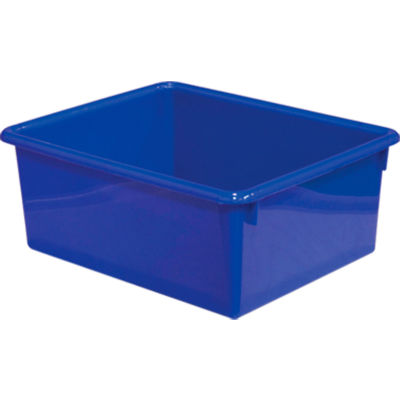 Rectangular Cubby Tray, Blue