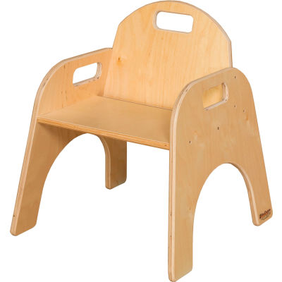 """Wood Designs™ Woodie, 11"""" Seat Height, Packed One Per Carton"""