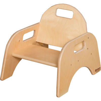 """Wood Designs™ Woodie, 5"""" Seat Height, Packed One Per Carton"""