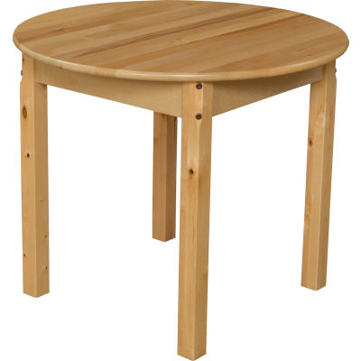 """Wood Designs™ 30"""" Round Table with 24"""" Legs"""