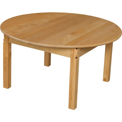 "Wood Designs™ 36"" Round Table with 20"" Legs"