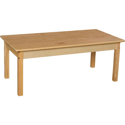 """Wood Designs™ 24"""" x 48"""" Rectangle Table with 18"""" Legs"""