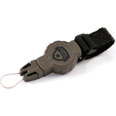 """T-Reign Hunting Retractable Gear Tether 0TRG-213 - Small 24"""" OD Green VELCRO®Brand Strap"""