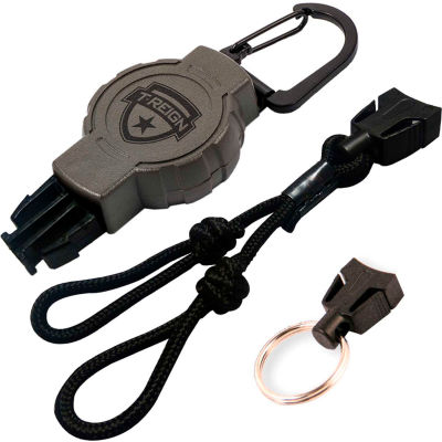 T-Reign Retractable Duck Call Gear Tether 0TRG-6111 - Carabiner