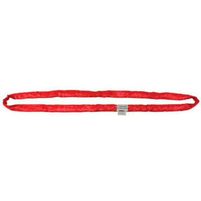 """Liftex® RoundUp™ 1-1/2""""W 10'L Endless Poly Roundsling, White"""