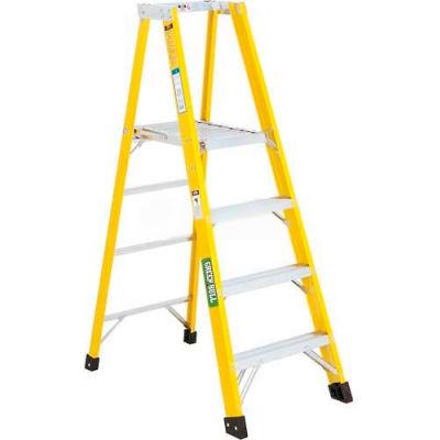 Green Bull Series 2072 Fiberglass Platform Ladder - 4' 207204