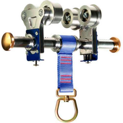 """Werner® A450000 I-Beam Trolley Anchor For Beams From 3""""- 10"""" and Up to 7/8"""" Thick"""
