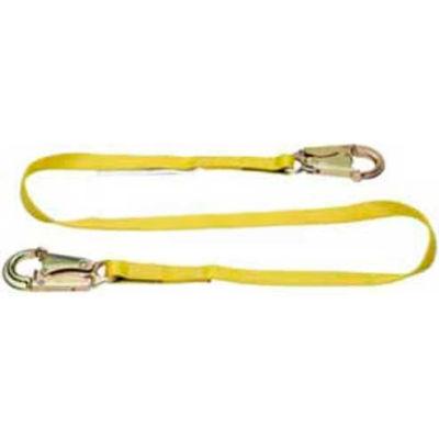 Werner® C111104 Positioning Lanyard, 4'L, 2 Snaphooks