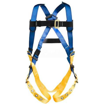Werner® H312005 LITEFIT™ Standard Harness, Tongue Buckle Legs, XXL