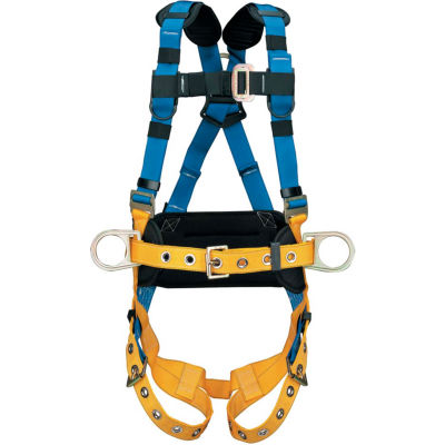 Werner® H332101 LITEFIT™ Construction Harness, Tongue Buckle Legs, Small