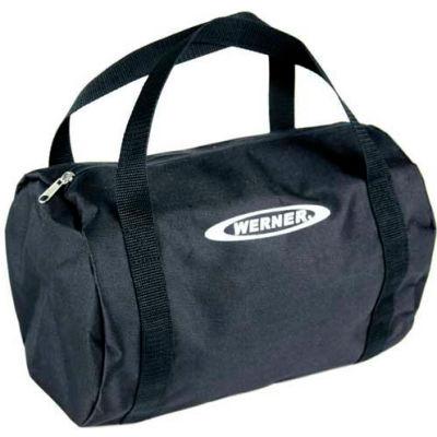"""Werner® K120001 Large Duffel Bag, 24"""" x 16"""", Black"""