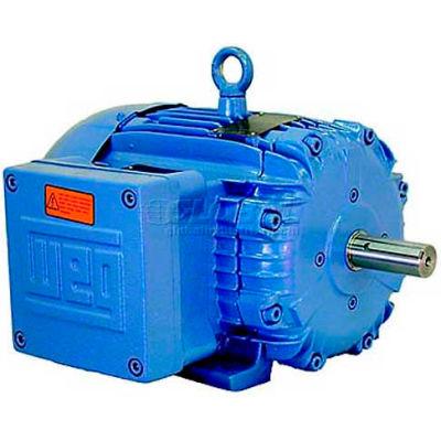 WEG Explosion Proof Motor, 00159XT3E184T, 1.5 HP, 900 RPM, 208-230/460 Volts, TEFC, 3 PH