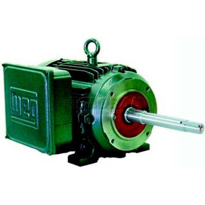 WEG Close-Coupled Pump Motor-Type JP, 00236ES1E145JP, 2 HP, 3600 RPM, 208-230/460 V, TEFC, 1 PH