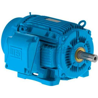 WEG Severe Duty, IEEE 841 Motor, 00509ST3QIE254TC-W22, 5 HP, 900 RPM, 460 Volts, TEFC, 3 PH