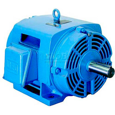 WEG Fire Pump Motor, 02036OP3EFP254TC, 20 HP, 3600 RPM, 230/460 Volts, ODP, 3 PH
