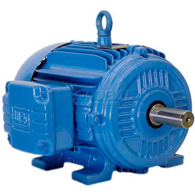 WEG Cooling Tower Motor, 04089EP3PCT364V2, 40/10 HP, 1800/900 RPM, 200 Volts, 3 Phase, TEFC