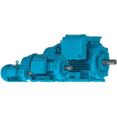 WEG Crusher Duty® Motor, 12512ET3GRB445T-W22, 125 HP, 1200 RPM, 460 Volts, TEFC, 3 PH