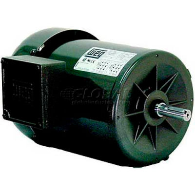 WEG Jet Pump Motor, .7536ES3EJPR56C, 0.75 HP, 3600 RPM, 208-230/460 Volts, TEFC, 3 PH