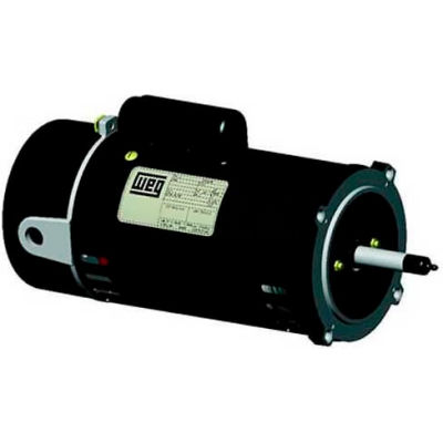 WEG Pool & Spa Motor, PCJ120H, 2 HP, 3600 RPM, 230 Volts, ODP, 1 PH