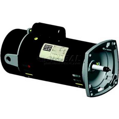 WEG Pool & Spa Motor, PCQ120H, 2 HP, 3600 RPM, 230 Volts, ODP, 1 PH
