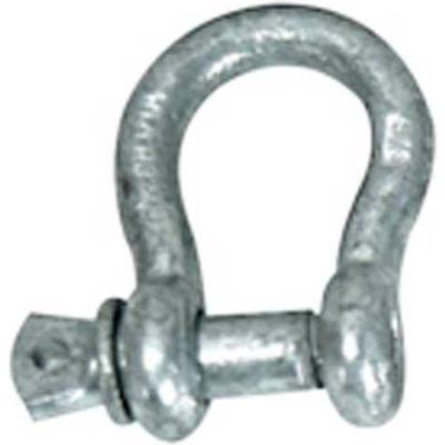 "Whitecap 7/16"" Bar Anchor Shackle, Galvanized Steel - S-1533"