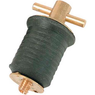 "Whitecap 1"" Screw Type Bailer Plug, Brass - S-290"