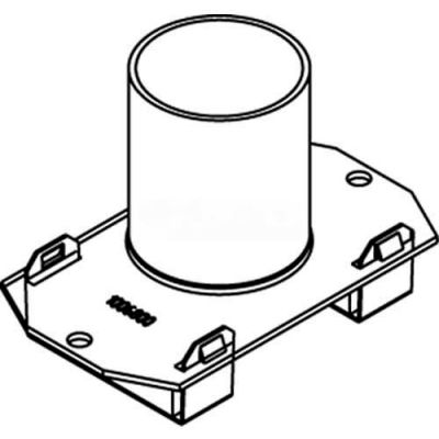"Wiremold 1125cha Poke-Thru 1-Gang Conduit Housing Assembly, 1-1/4"" - Pkg Qty 5"