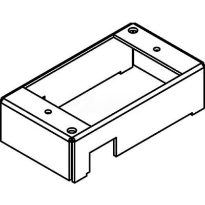 Wiremold 1BHA Poke-Thru 1-Gang Bottom Housing Assembly