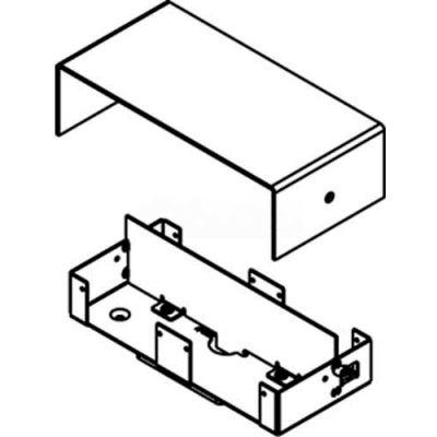 Wiremold 241-H/BTC Poke-Thru Housing, Base & Barrier Assembly W/Gasket For 241 Series